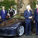 Nouvelle Ferrari Roma présentée au Président de la République d'Italie